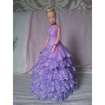 Boneca Com Vestido Eva.