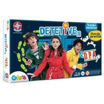 Jogo Tabuleiro Detetive Junior Original Estrela Estrategia