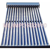Aquecedor Coletor Solar Vácuo 20 Tubo Agua Quente 400 Litros
