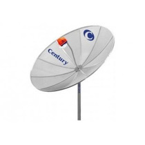 Antena Parabólica Century 1,70mt+receptor Analóg+lnbf Mono