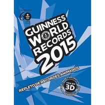 Livro Guinnes World Records 2015 Original Novo Lacrado