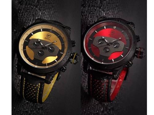 36457c03108 Relógio Tubarão Sport Watch Most. Vermelho Amarelo Original