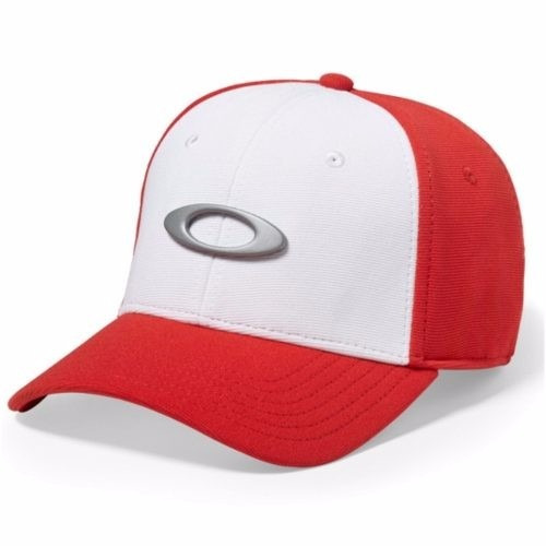 Bone Oakley Tincan Oval (vermelho Com Branco S m) - R  179 en ... 83d883cd82f
