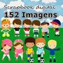 Scrapbook Digital Esportes - 152 Imagens Em 300dpi Envio Já!