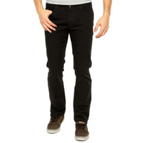 Calça Masculina Jeans Sarja Preta Slim Fit Compre 1 Leve 2