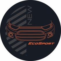 Capa Estepe Nova Ecosport New Laranja Cc605