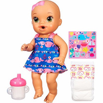 Boneca Baby Alive Hora Do Xixi Loira A9290 Hasbro+brinde