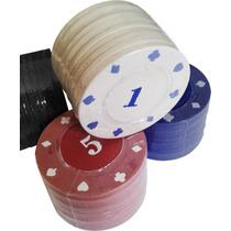 Fichas De Poker Jogos 48 Peças Numeradas