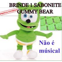 Ursinho Gummy Bear 34cm + Sabonete Gummy Bear Pronta Entrega
