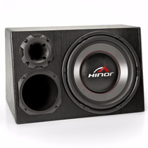 Caixa Automotiva Amplificada Hinor Box Trio 1000 400w