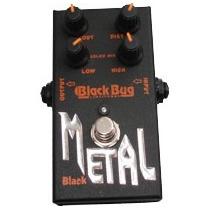 Pedal Guitarra Black Reavy Metal Trm Black Bug Trm