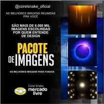 ( 05 ) Pacote De Imagens - Fundo P/ Panfletos // Corel Snake