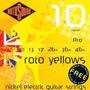 Rotosound R10 Cordas Para Guitarra 010 - Inglesa