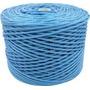 Corda De Nylon Para Varal Rolo 400 Metros Azul