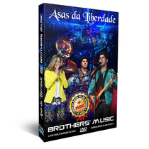 Dvd Brothers Music Asas Da Liberdade Bonus 35 Anos Voz Da Ve