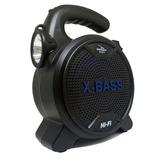 Caixa De Som Bluetooth Amplificada Lanterna Super Bass 600w