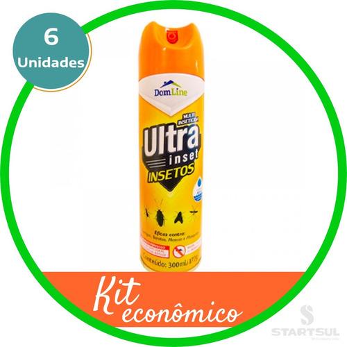 Ultra Insetos Multiinseticida Dom Line Mata Insetos Promoção