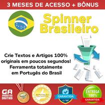 Spinnerbr, Spinner Português - 3 Meses Ilimitado + Bônus