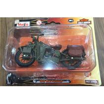 Moto Colecionável Maisto Harley Davidson 1:18 Die Cast