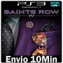 Saints Row Iv 4 - Ps3 Psn - ** Envio Agora **
