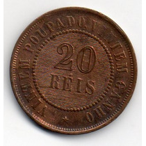 20 Reis De Bronze De 1906