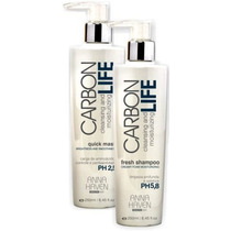 Anna Haven Carbon Life (kit 295ml Cada, Shampoo+máscara) 12x