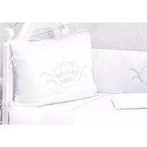 Kit Berço Imperial Branco 100% Algodão
