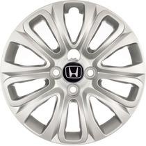 Calota Aro 15 Honda Civic Fit City Lançamento 04 Peças