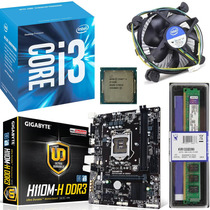 Kit Gigabyte Ga-110m-h + Core I3 6100 3.70ghz 3mb 1151 + 4gb