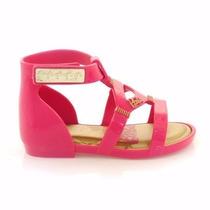 Sandalia Infantil Feminina Grendene Rosa Barbie Baby