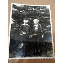 Linda Foto Antiga ( 2 Crianças Alemãs)