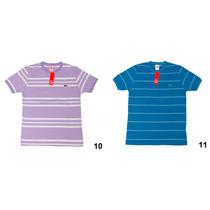 Camiseta Masculina Lacoste (original) N Abercrombie, Ralph