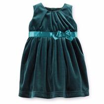 Vestido Veludo Carters (18 Meses)