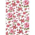 Tricoline Flores Rosa