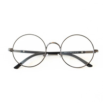 Armação Óculos De Grau Redondo Geek - Frete Grátis