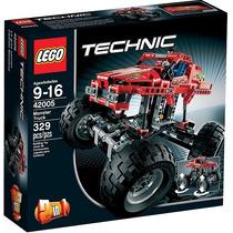 Lego 42005 Technic Monster Truck 2 In 1 - Pronta Entrega