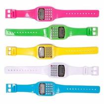 Relógio Digital Com Calendário E Calculadora! Excelente!