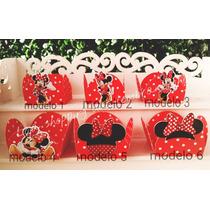 Promoção!!50 Forminhas Docinhos Minnie Vermelha Minnie Rosa
