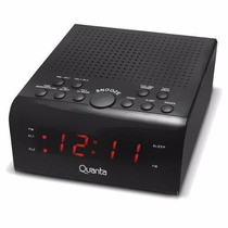 Radio Relogio Digital Fm Despertador Duplo Alarme Powerpack