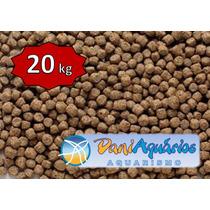 20kg Ração De Crescimento P/ Peixes,carpas,kinguios,tilápias