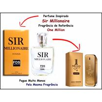 Perfume Importado Sir Millionair Fragrância One Million 50ml