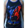 Camiseta Regata -muay Thai - The Kicks - Malha Pv - Toriuk