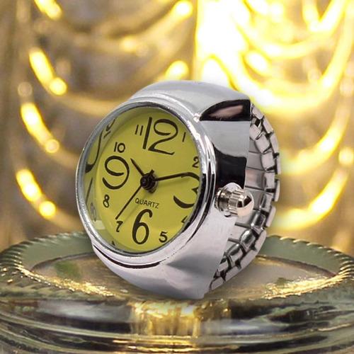 c0adc9ae311 Relógio Feminino De Dedo Anel Quartz Várias Cores. Preço  R  28 Veja  MercadoLibre