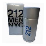 Perfume 212 Men Nyc 200ml Carolina Herrera Original Adipec
