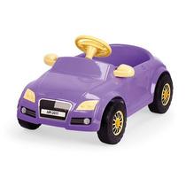 Carrinho Infantil De Pedalar Com Buzina Audi Lilas C/ Frete