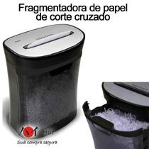 Fragmentadora Trituradora Picotadora De Papel, Cd, Royal