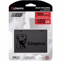 Ssd Kingston 120 Gb Sata 6gb/s 2.5 Pol. Lacrado A400 500mb/s