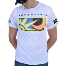 Camiseta Valentino Rossi Vr46 Fortysix Sun/moon Bco Gg Rs1