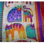 Echarpe Cachecol Lenço Para Pescoço Scarf Gatos Coloridos 1