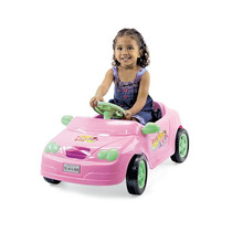 Carro A Pedal - Mercedes Rosa Beauty Girls - Homeplay